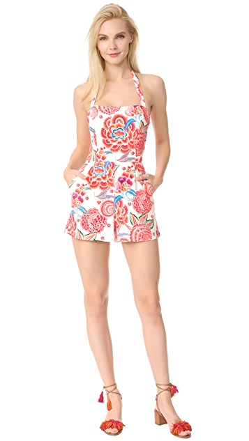 Temperley London Nymph Tailoring Romper
