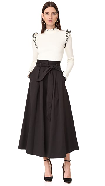 Temperley London Blueberry Culottes