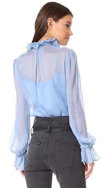 Temperley London Costume Silk Shirt