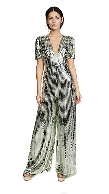 Temperley London Heart Charm Jumpsuit