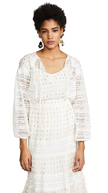Temperley London Wondering Lace Blouse