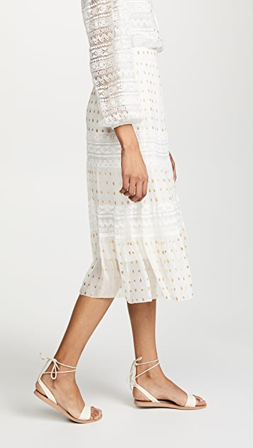 Temperley London Wondering Lace Skirt