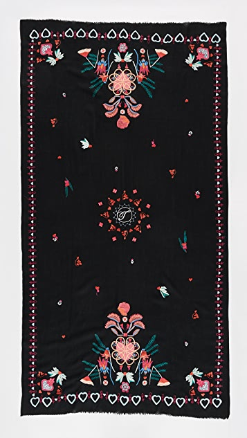 Temperley London Botanist Shawl