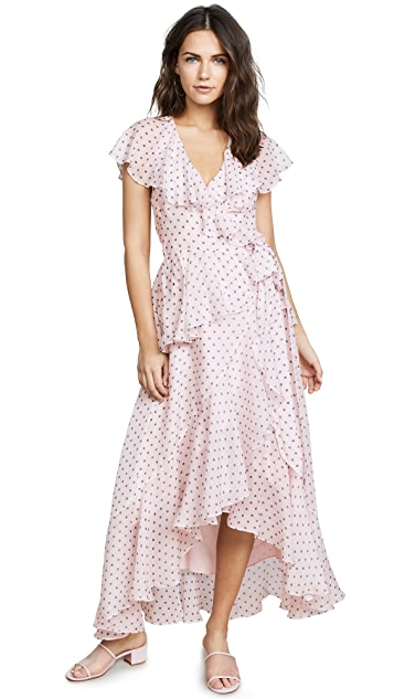 Temperley London Dot Printed Dress