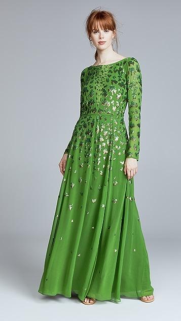 Temperley London Celestial Long Dress