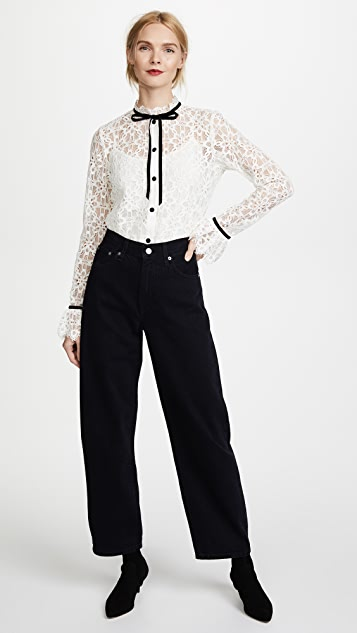 Temperley London Eclipse Lace Shirt