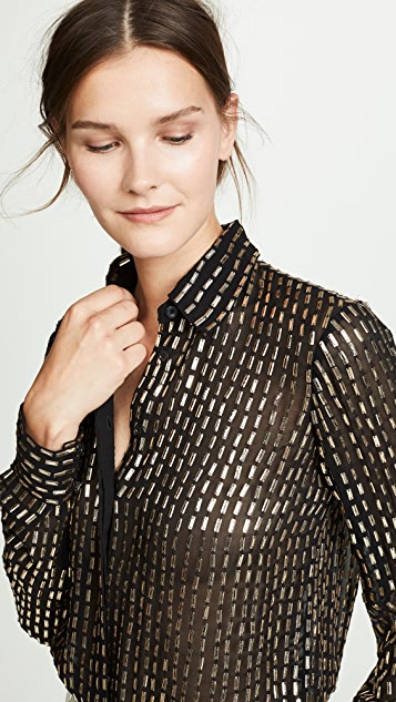 Temperley London Mosaico Top