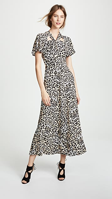 Temperley London Wild Cat Midi Dress