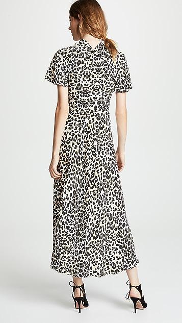 Temperley London Wild Cat Midi Dress