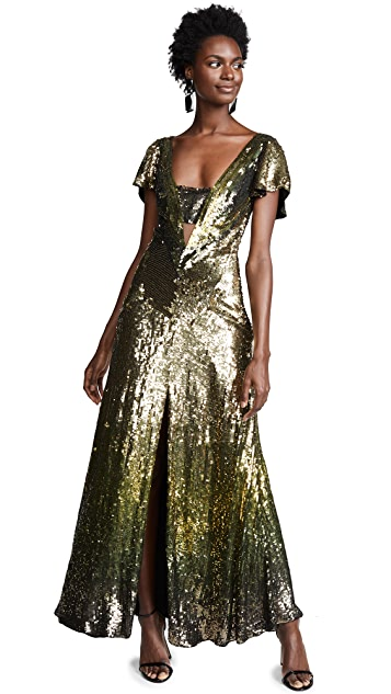 340351bf7a5 ... Temperley London Ruth Sequin Gown