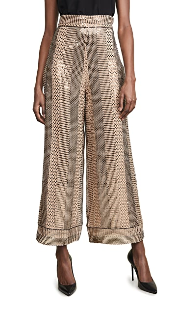 Temperley London Platinum Trousers