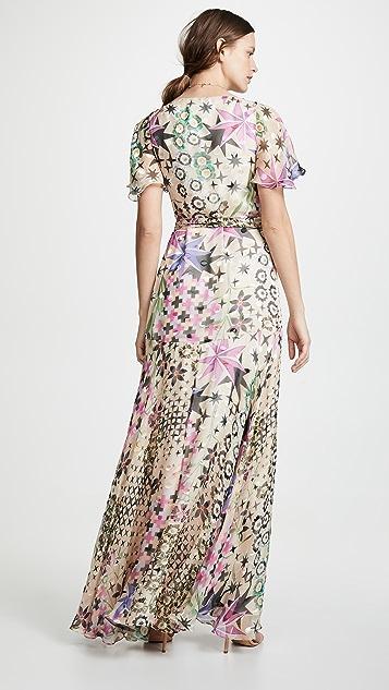 Temperley London Claudette Wrap Dress