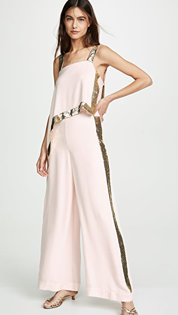 Temperley London Sycamore Draped Top