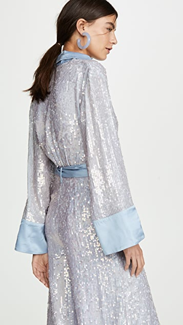Temperley London Bia Sequin Jumpsuit