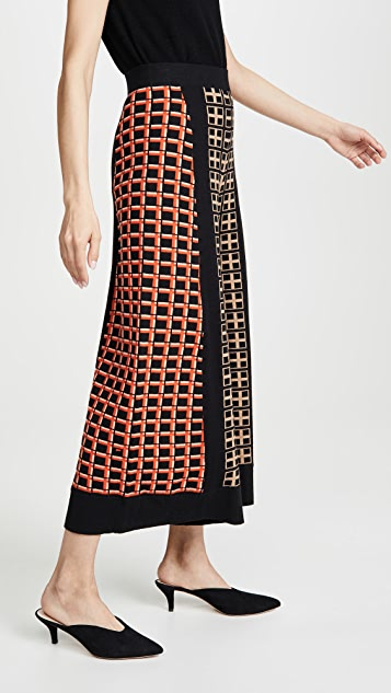 Temperley London Yukata Knit Culottes