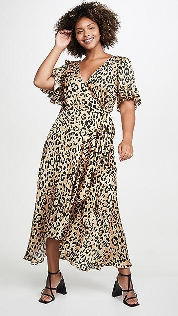 Temperley London Piera Wrap Dress