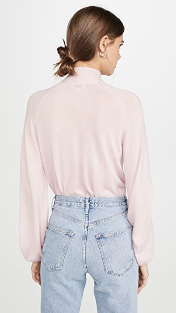 Temperley London Cashmere Chime Knit Top
