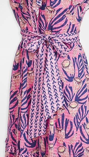 Temperley London Reef Ruffle Dress