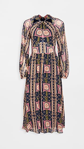 Temperley London Etoile Twist Dress