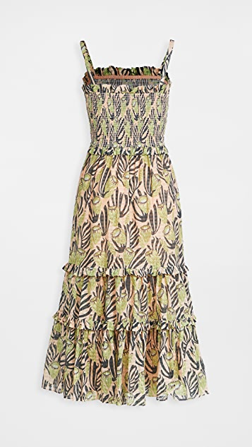 Temperley London Reef Strappy Dress