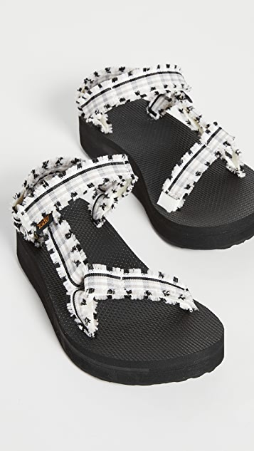 Teva Midform Fray Sandals