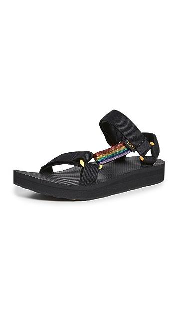 Teva Mid Universal Pride Sandals
