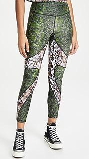 Twin Fantasy 蟒蛇纹贴腿裤