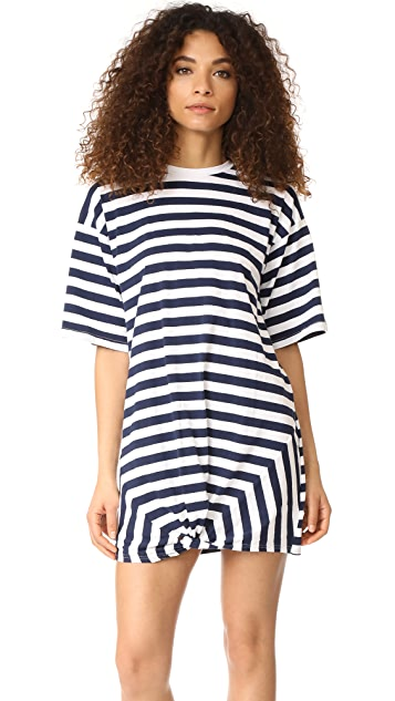ea986f6ce4f9 The Fifth Label Off Duty T-Shirt Dress