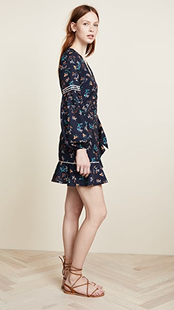 The Fifth Label Skyward Wrap Dress