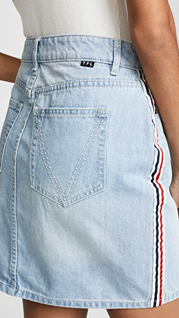 The Fifth Label Off Shore Denim Skirt