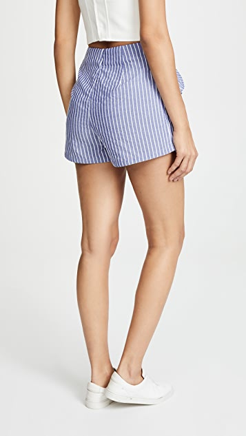 The Fifth Label Parcel Stripe Shorts