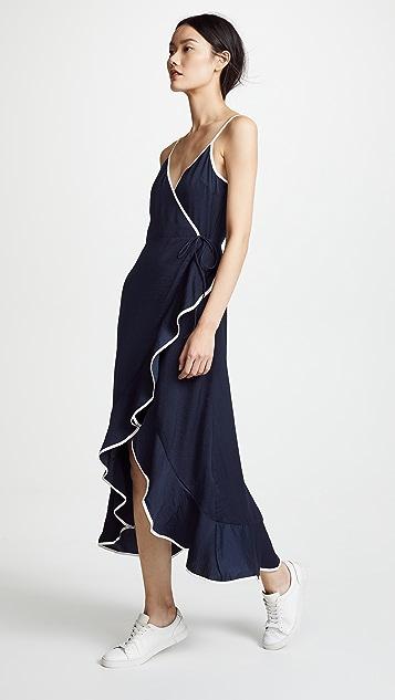 The Fifth Label Juliette Wrap High Low Dress