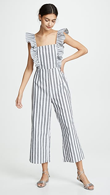 33bcd9f0bae The Fifth Label Flora Stripe Jumpsuit