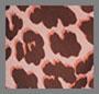 桃红色豹纹