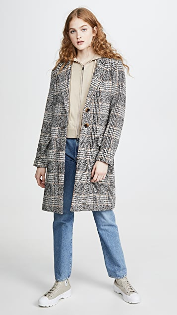 The Fifth Label Project Check Coat