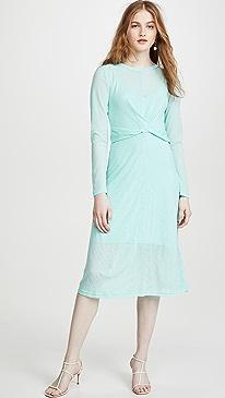 Own Light Long Sleeve Midi Dress