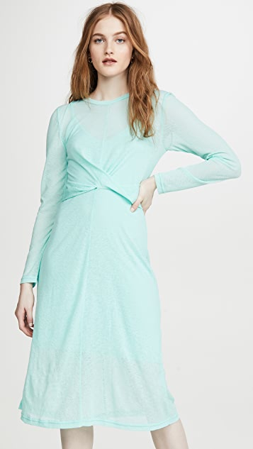 The Fifth Label Own Light Long Sleeve Midi Dress