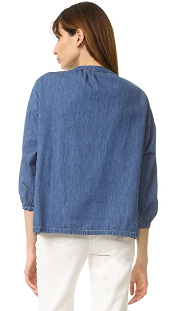 THE GREAT. The Rope Pullover