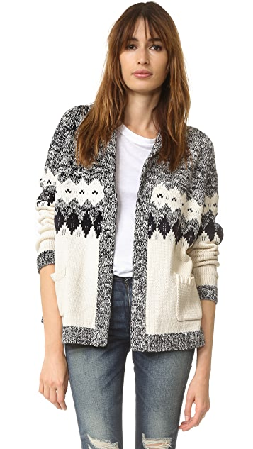 THE GREAT. The Bonfire Cardigan