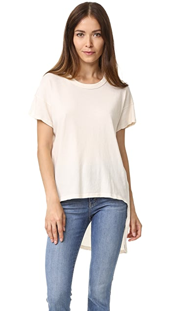 THE GREAT. The Shirttail Tee