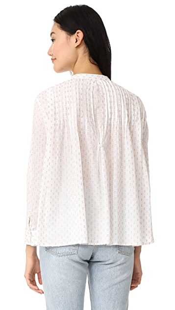 THE GREAT. The Pleat Top