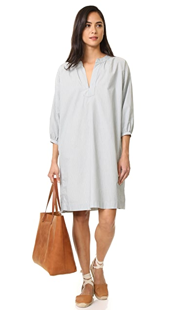 THE GREAT. The Easy Tunic Dress
