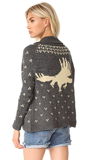 THE GREAT. The Eagle Sweater