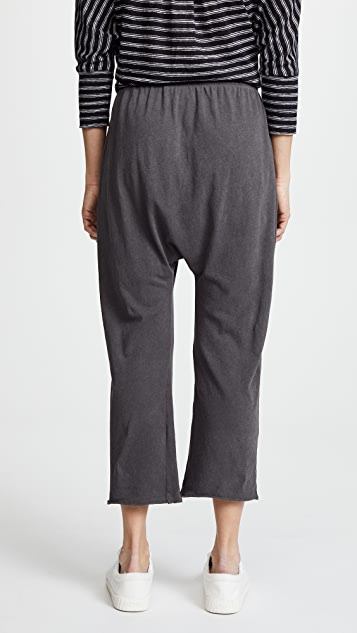 THE GREAT. The Jersey Cropped Pants