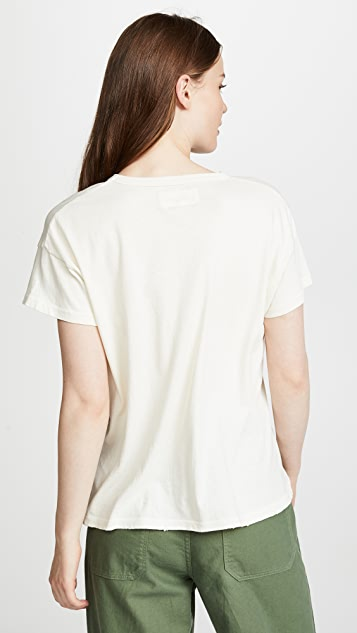 THE GREAT. The Boxy Crew Tee