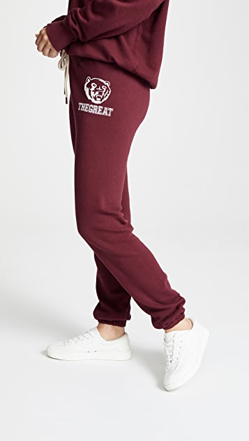 THE GREAT. The Warm Up Sweatpants