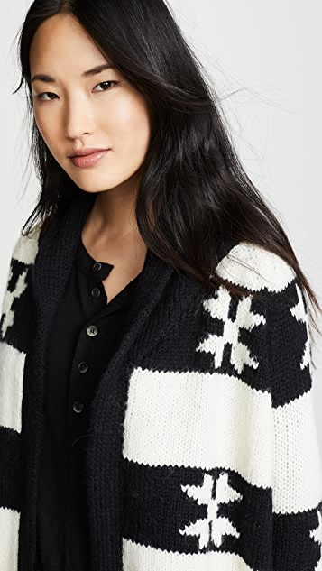 THE GREAT. The Starflower Cardigan