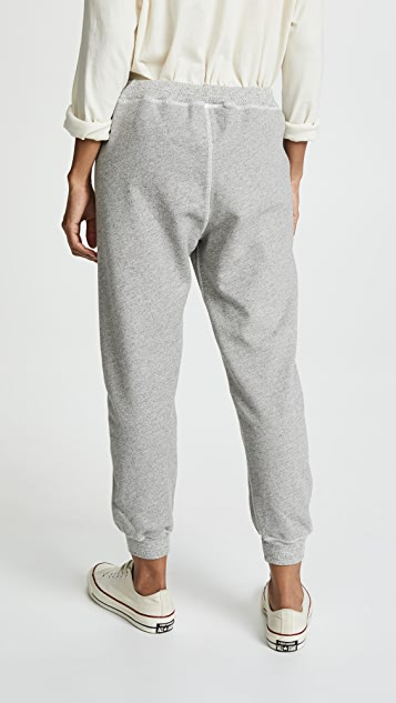 THE GREAT. Cropped Sweatpants