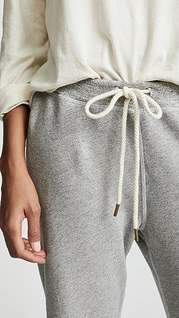 THE GREAT. Укороченные спортивные брюки