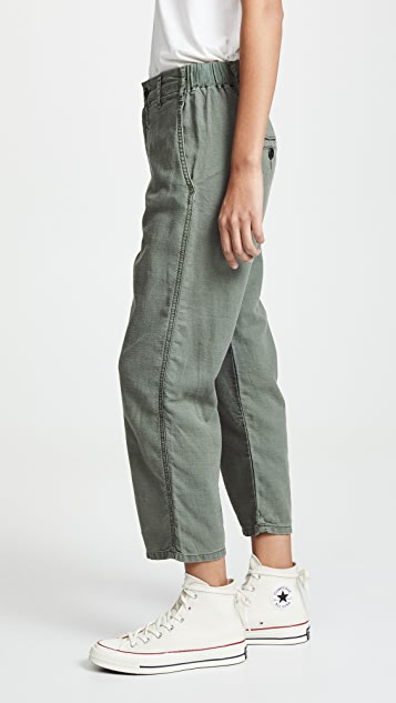 THE GREAT. The Easy Army Pants